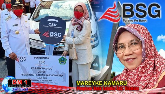 Ringankan Beban Masyarakat, Bank SulutGo Serahkan Dana CSR Rp.1,49 M ke Pemkab Boalemo