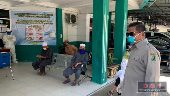 18 Jamaah Peserta Tablig Akbar di Gowa Asal Kota Gorontalo Jalani Rapid Test