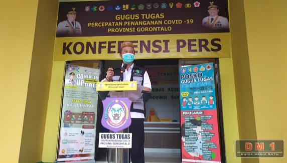 Kematian Pertama Pasien Positif COVID-19 di Gorontalo