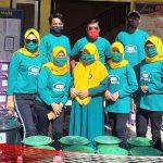 Camat Suwawa Selatan Salurkan APD, Kades Bonda Raya: Tak Pakai Masker tidak Dilayani