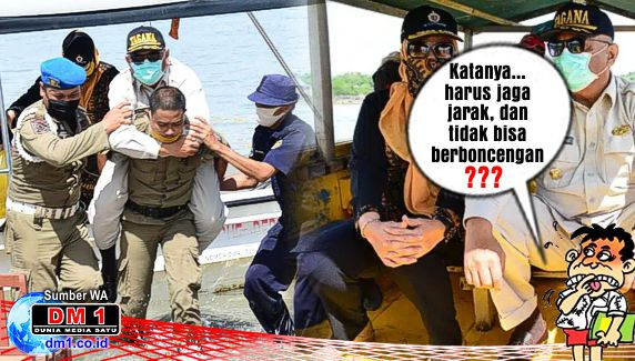 PSBB di Gorontalo, Sejumlah Pelanggaran Justru Dipertontonkan oleh Gubernur