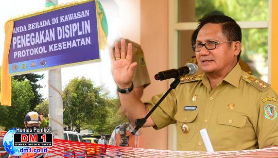 Menuju New Normal, Pemkot Gorontalo Tetapkan Kawasan Tertib Protokol Kesehatan