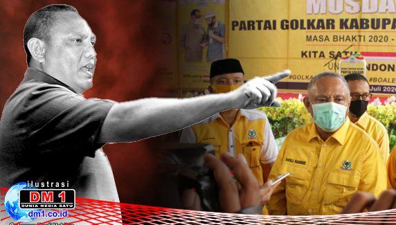 """Terkait Lontaran """"Ujung Kuku"""", Gubernur Rusli Berencana Laporkan Bupati Boalemo"""