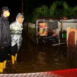 Pantau Genangan Air, Wawali Ryan Kono: Penanganan Banjir Mulai Menemui Titik Terang
