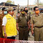 Tinjau Pasar Terkait Covid19, Wali Kota Gorontalo Ajak Masyarakat agar Tidak Keras Kepala