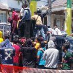Sambil Menunggu Fatwa MA, Massa Aksi Minta Kejati Jebloskan Bupati Boalemo ke Tahanan