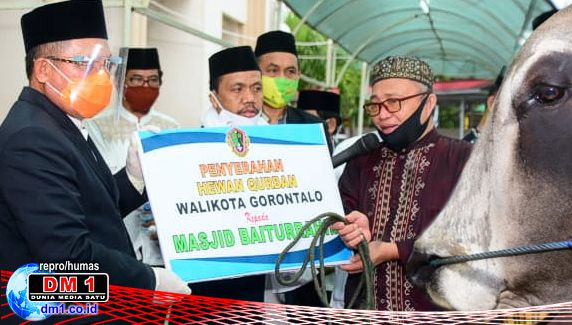 Wali Kota Gorontalo: Pelaksanaan Idul-adha 1441 H Harus Tertib Protokol Kesehatan