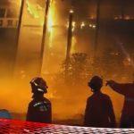 Gedung Kejaksaan Agung Diamuk Api