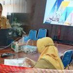 Rapat Virtual dengan Kemenpan RB, Sekda Ismail Ungkap Kemajuan Kota Gorontalo