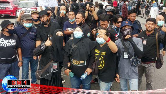 Kapolda Gorontalo Dinilai Kecut Hadapi Demo Jurnalis