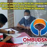 Dinilai tak Patuhi Undang-undang, Amara-PH Laporkan Mendagri dan Gubernur Gorontalo ke Ombudsman