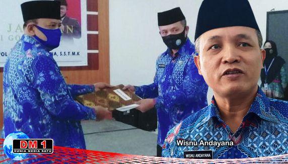 Sertijab Kepala BNNP Gorontalo, Suparwoto Mengaku Tak Ragukan Kualitas Wisnu
