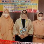 Sertijab Ketua DWP PDAM Kota Gorontalo, Jusmiaty Taha: Keberhasilan Suami Tergantung Istri