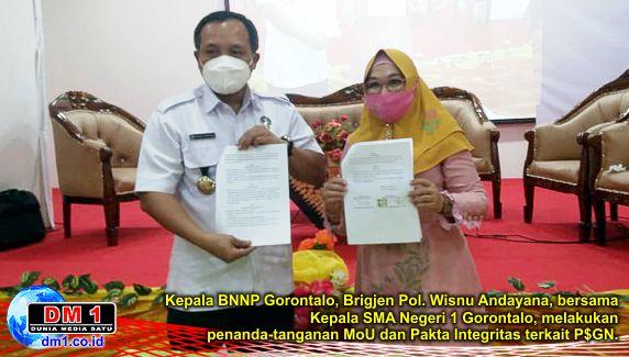 """Dari Webinar SMANSA """"Bersih"""": Gorontalo Sasaran Empuk Narkoba, Ini Ajakan BNNP"""