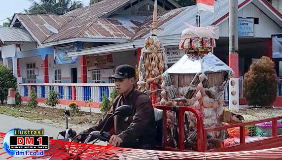Meski Dibatasi Protkes Covid19, Dikili Tetap Berlangsung Khidmat di Desa Poduwoma