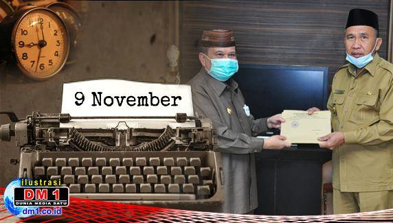 """Boalemo Punya """"Bupati Baru"""", Ini Sederet Sejarah Penting 9 November"""