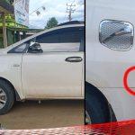 Pagi-pagi Buta, Mobil Anggota DPRD Asal PAN ini Dilempar oleh OTK