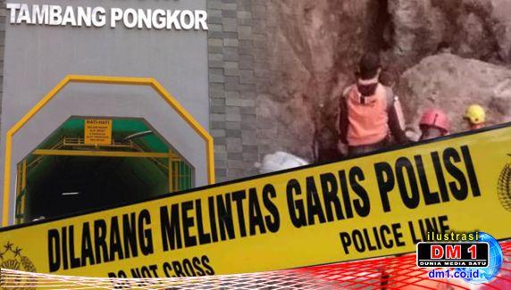 Penambang Emas Ilegal di Gunung Pongkor Tertimbun, Polisi Lakukan Pencarian