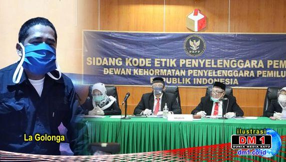 Dililit Pelanggaran Kode Etik, Hari ini Seorang Komisioner Bawaslu Koltim Disidang di DKPP