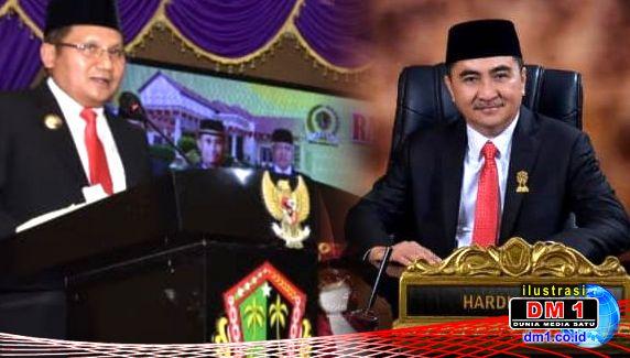 Hardi Sidiki Resmi Nakhodai DPRD Kota Gorontalo, Ini Pesan Wali Kota Marten Taha