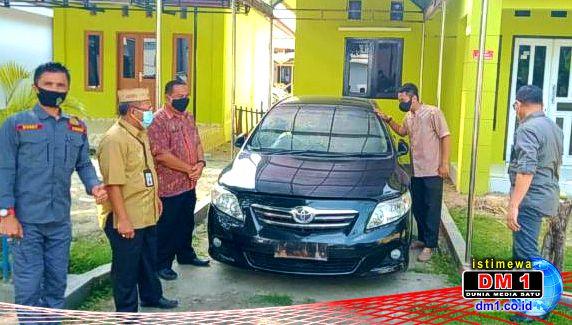 Mobil Dinas Mantan Ketua DPRD Kota Gorontalo Disita Kejaksaan