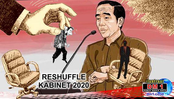 """Jokowi Akhirnya Umumkan 6 Menteri Baru, """"Tradisi Pon"""" Berulang"""