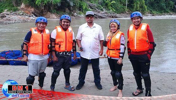 Dibantu Maba UNG, Destinasi Wisata River Tubing Poduwoma Berhasil Dibenahi