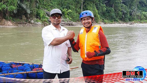 """Kades Poduwoma Kembali Aktifkan Wisata River Tubing, Maba UNG """"Wisatawan"""" Pertama"""