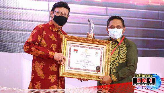"""Dari Inovasi """"Tancap Nikah"""", Pemkot Gorontalo Raih Penghargaan dari Menpan-RB"""