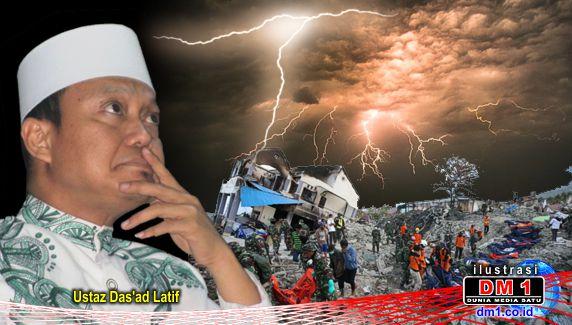 Ustaz Das'ad: 4 Penyebab Bencana, Salah Satunya Koruptor Tak Tahu Malu