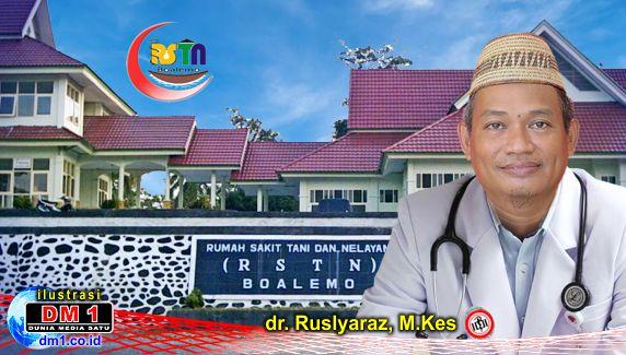 Tekad dan Semangat 2021, Dokter Ruslyaraz Siap Wujudkan Misi-Visi RSTN Boalemo