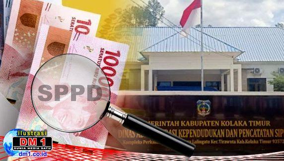 Belum Terbayar, Pegawai Dukcapil Koltim Tagih Uang SPPD 2020
