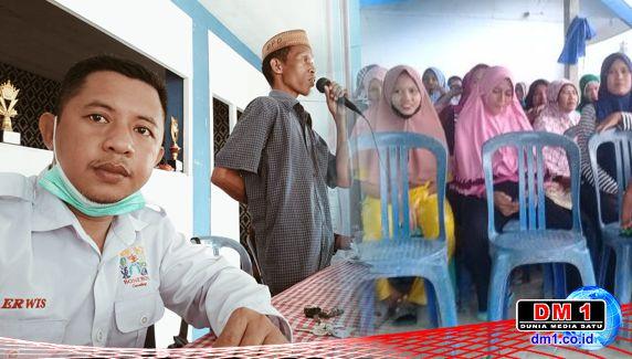 Jelang Ramadan 1442 H, Kades Erwis Ajak Warga Desa Molamahu Benahi Dua Masjid