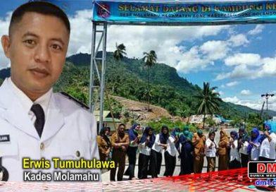 Kampung KB Desa Molamahu Dikunjungi Tim Monev BKKBN Provinsi Gorontalo