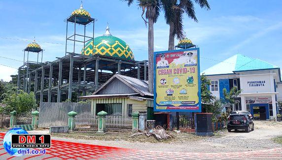 Dugaan Mark-up Proyek Masjid, Ketua Pembangunan Akui Kontraktor Gunakan Seng Bekas