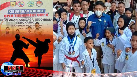 Atlet Wadokai Sutim Raih 6 Medali di Kejurda Boalemo, Kades Yusuf: Semoga ke Depan Makin Cemerlang