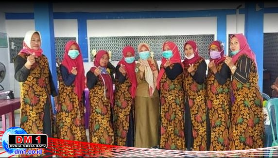 Menuju Lomba Tingkat Kabupaten, TP-PKK Desa Molamahu Ditunjuk Wakili Kecamatan Bone
