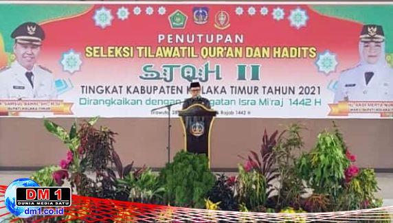 STQH II Koltim Ditutup, Bupati Samsul: Aktualisasikan Pesan Illahi agar Terwujud SBM