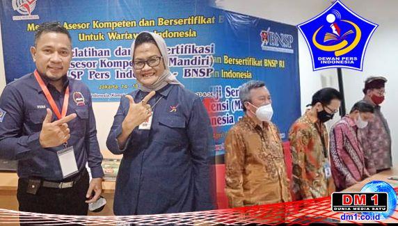 Larang DP Sertifikasi Wartawan, BNSP: Harus Lewat LSP Pers Indonesia