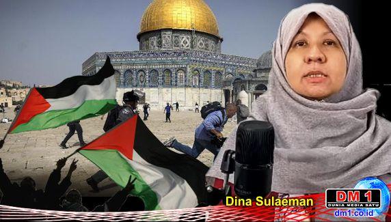 Tegas! Perempuan ini Jawab Narasi Para Pembela Israel