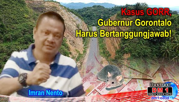 Gubernur Gorontalo Disebut Terkait 2 Alat Bukti Kasus GORR, Ketua LSM Merdeka: Dia Harus Bertanggungjawab
