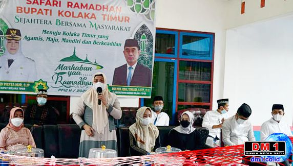 Safari Ramadan di Lambandia, Plt Bupati Koltim Ajak Jauhi Pekat