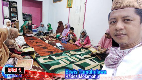 Tradisi Tadarus dari Rumah ke Rumah di Desa Molamahu, Kades Erwis: Harus Terus Dihidupkan