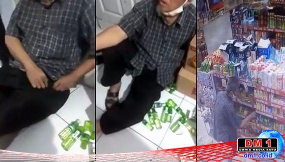 Berharap Aksi Pencurian Kakek ini Berakhir di Indomaret & Alfamart