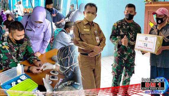 Hari Bhakti TNI AU ke 74: Satradar 232/Dumai Gelar Aksi Kemanusiaan
