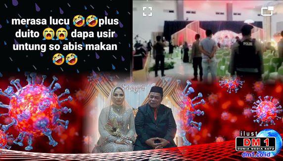 Pesta Perkawinan Kadis Kominfo Bone Bolango di Masa PPKM Dibubar Paksa, Undangan: Tidak Pam Ba-dengar