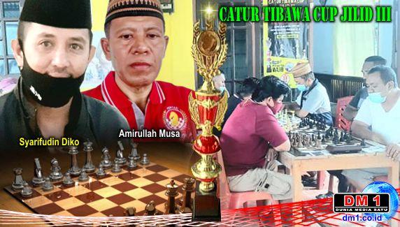 Catur Tibawa Cup 2021 Jilid III Sukses Digelar, 2 Aleg dari 2 Daerah Ikut Berlaga