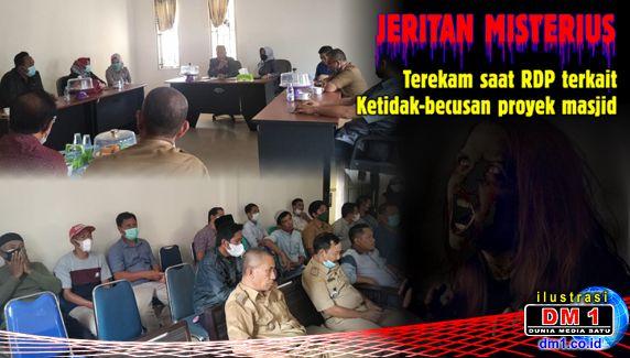 Jeritan Wanita Misterius Terekam saat RDP Masjid Jabal Nur Rate-rate, Pertanda Apa?