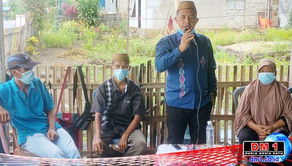 Kades Erwis Salurkan Bantuan Beras PPKM dan Bahas Pembentukan Kelompok Hewan Kurban 1443 H