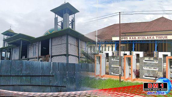 """Senin ini, Kontraktor yang """"Terlibat"""" di Masjid Jabal Nur Dihearing di DPRD Koltim"""